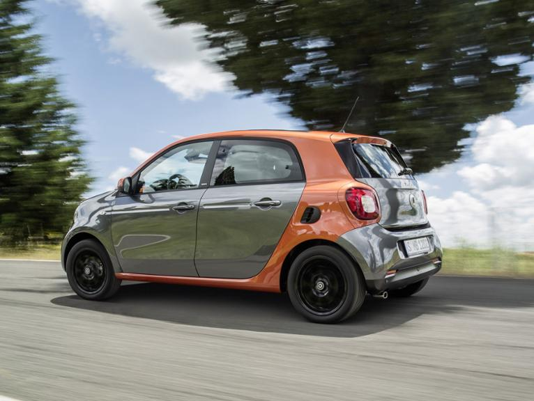 smart forfour Modell 2014