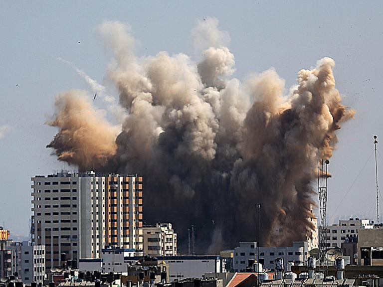 Gaza Attacke Israel