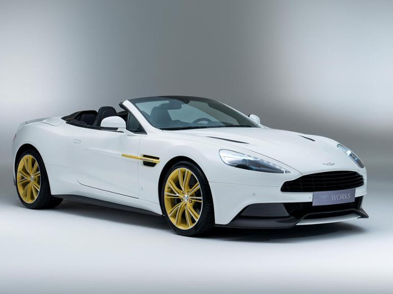 Aston Martin Works 60th Anniversary Limited Edition Vanquish.
