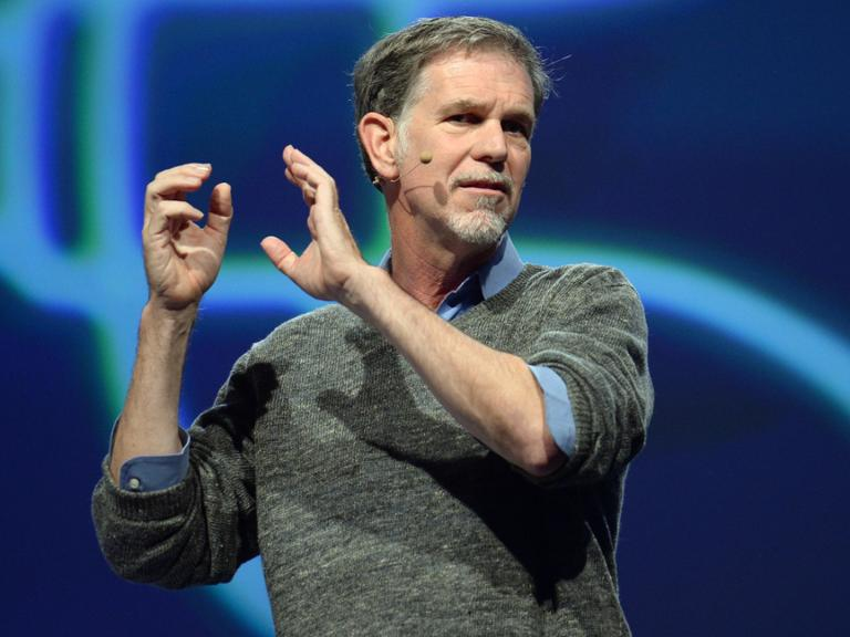Netflix, Reed Hastings