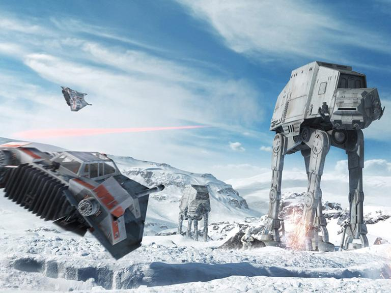 Star Wars Battlefront Test