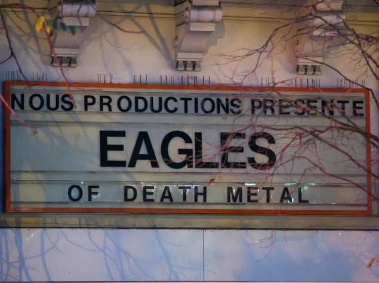 Eagles of Death Metal, Paris