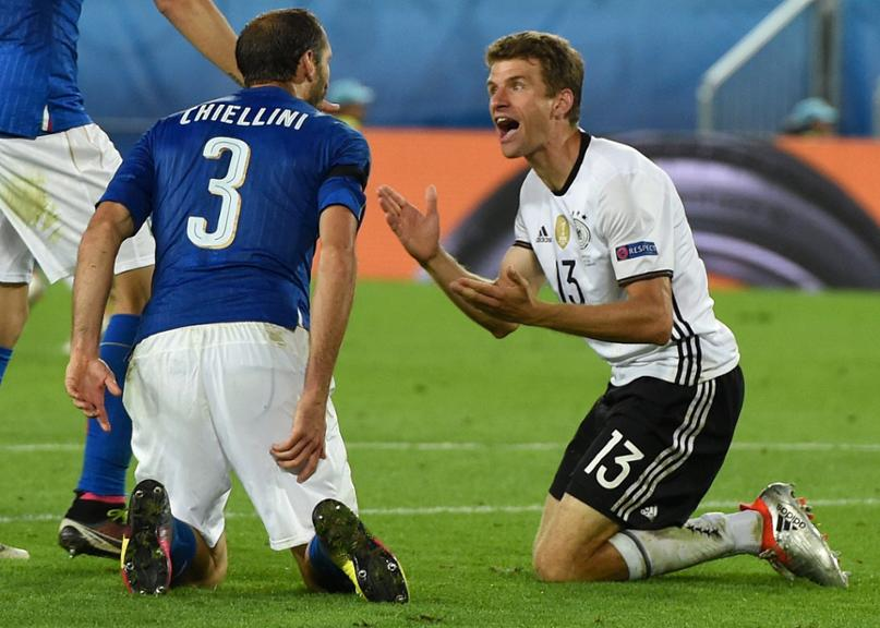 EURO 2016 - Quarter final Germany vs Italy