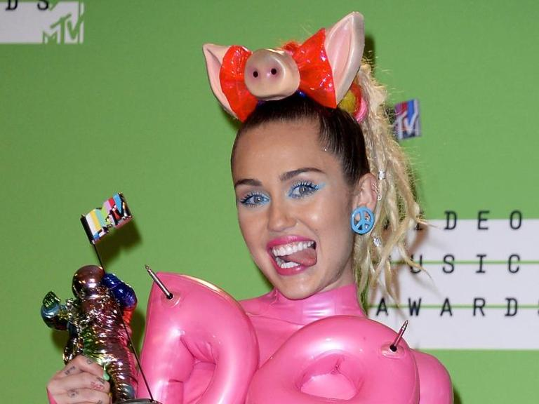 Miley Cyrus bei den MTV Video Music Awards 2015. Foto: MIke Nelson