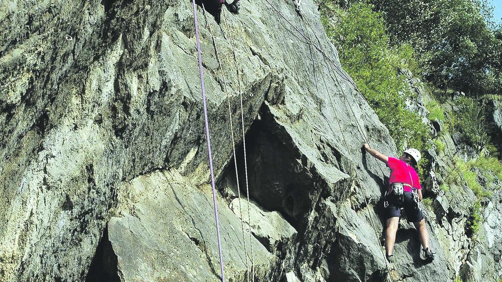 Klettergurt Ratgeber : Bochumer bruch: die u201ealpenu201c vor der tür rhein wupper