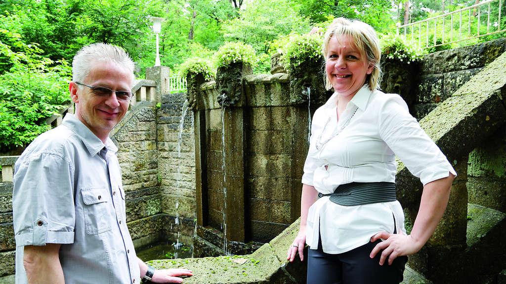 Brunnen ist wieder in Betrieb | Solingen