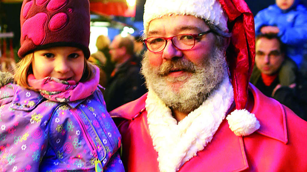 Weihnachtsmann bringt Freude | Solingen