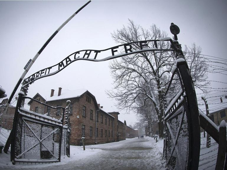Konzentrationslager Auschwitz in Polen