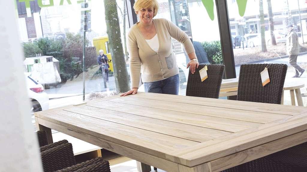 In Ohligs öffein neues Geschäft für Gartenmöbel | Solingen