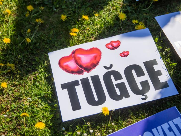 Tugce-Prozess in Darmstadt