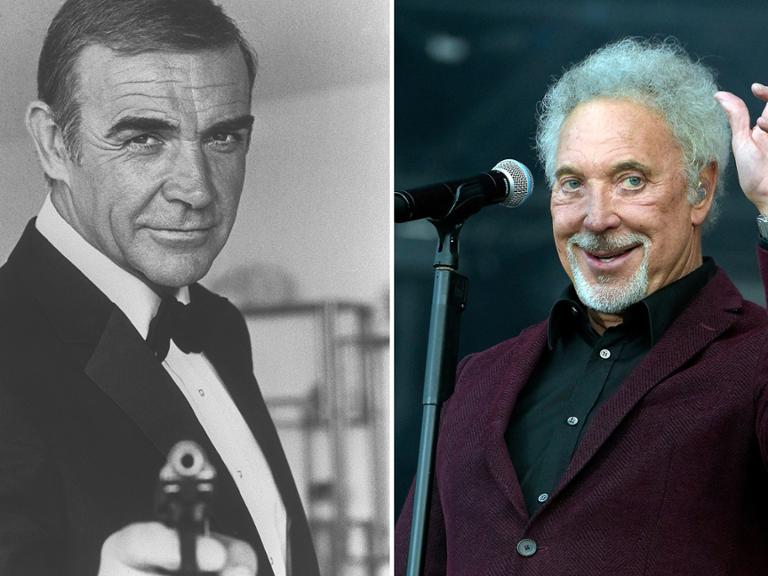 Sean Connery Tom Jones