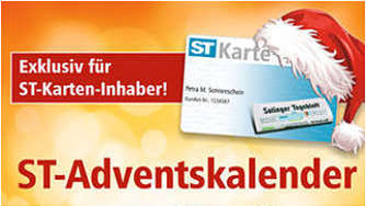 ST-Adventskalender – so funktioniert's: