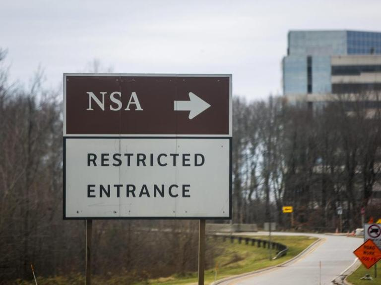 Zentrale des US-Geheimdienstes NSA in Fort Meade. Foto: Jim Lo Scalzo/Archiv