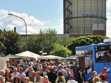 """Bei der """"Sozialen Stadt Heckinghausen"""" wird die Entwicklung des Quartiers gefördert. Foto: Archiv"""