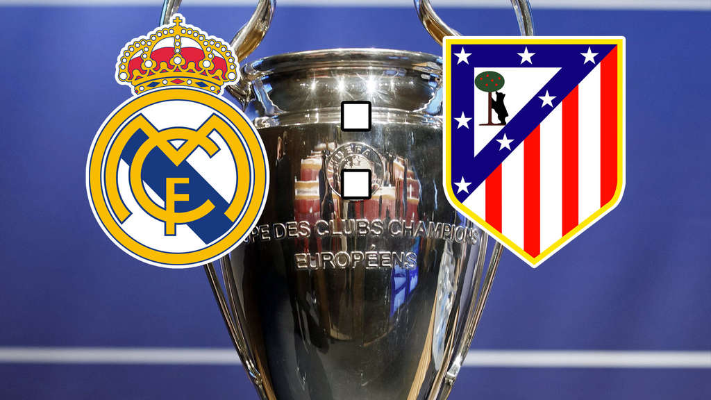 Real Madrid gegen Atlético Madrid, Finale, Champions League