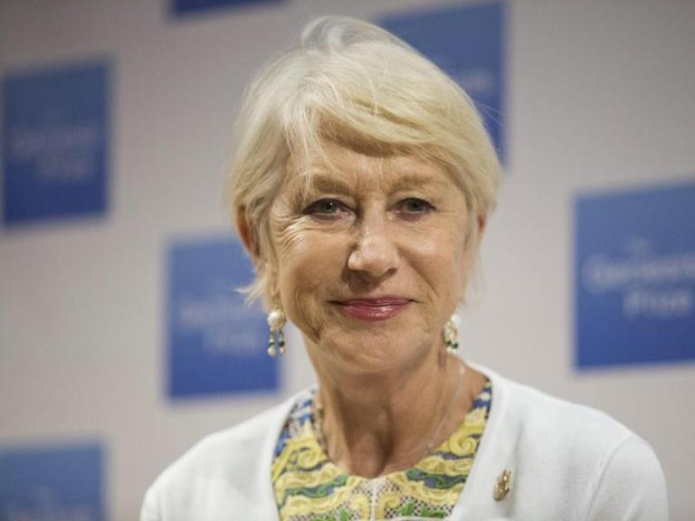 Helen Mirren in Jerusalem. Foto: Abir Sultan