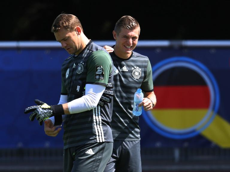 EURO 2016 - Germany training