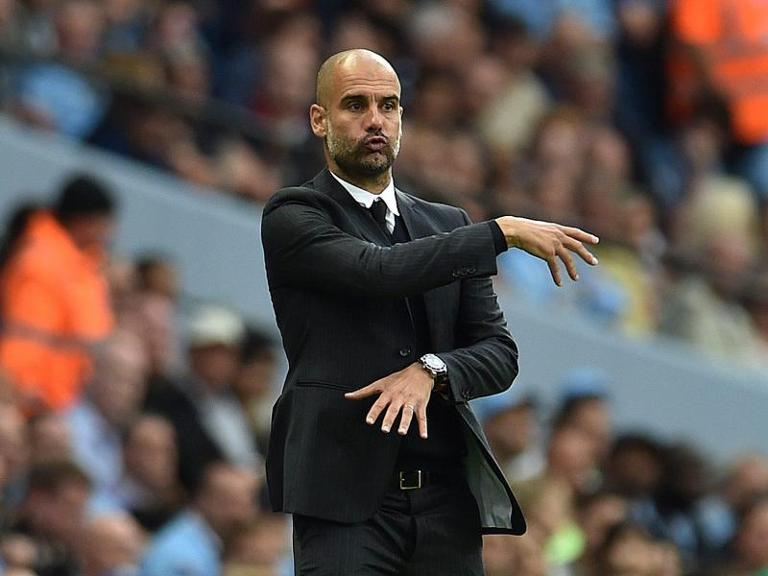 Pep Guardiola hat auch Manchester City im Griff. Foto: Peter Powell