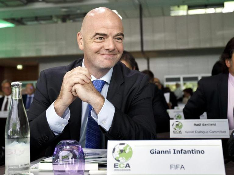 FIFA-Boss Gianni Infantino will eine WM mit 40 Teams. Foto: Salvatore Di Nolfi