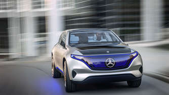 Elektro-SUV: Mercedes Generation EQ