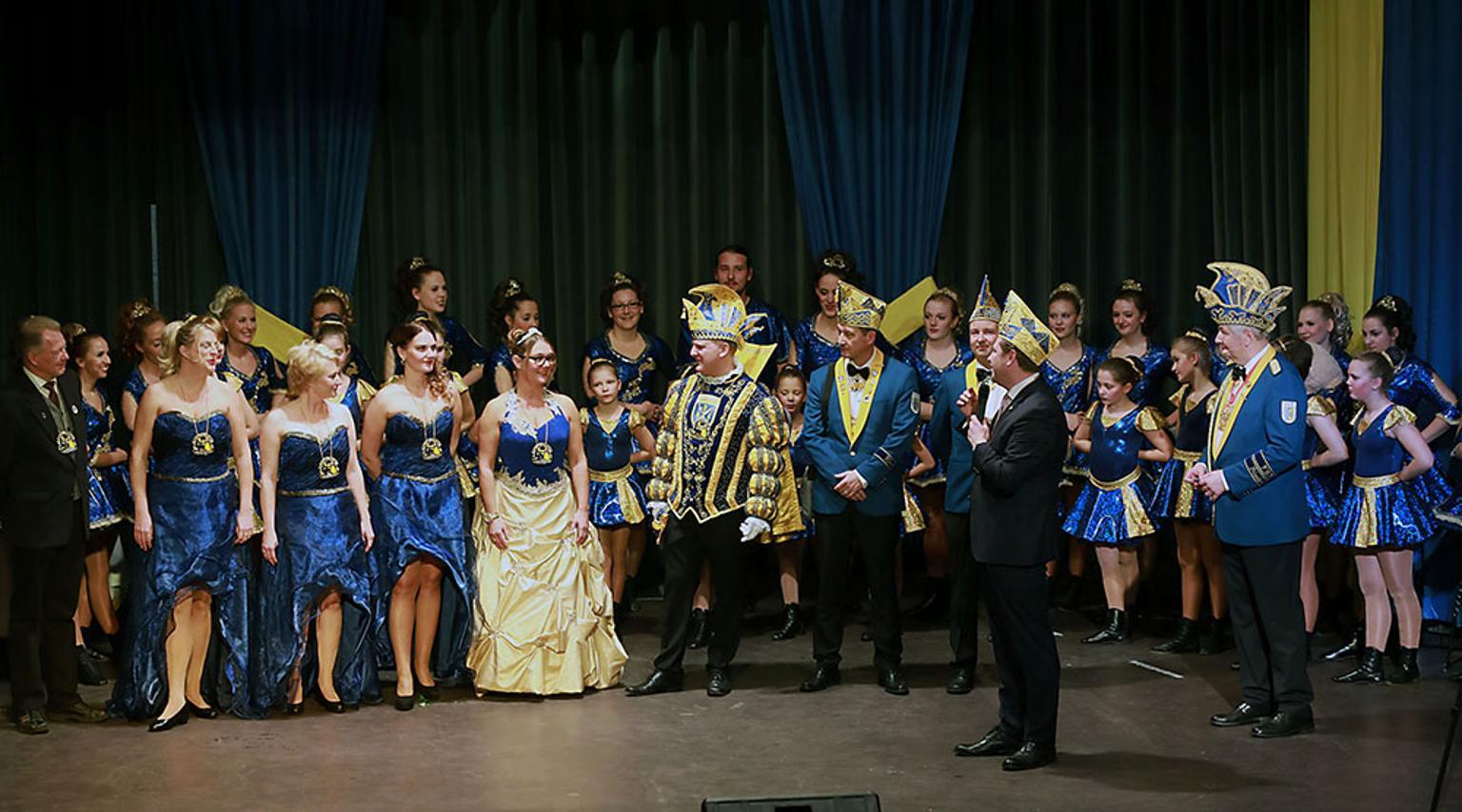 Prinzenproklamation in der Ohligser Festhalle   Solingen