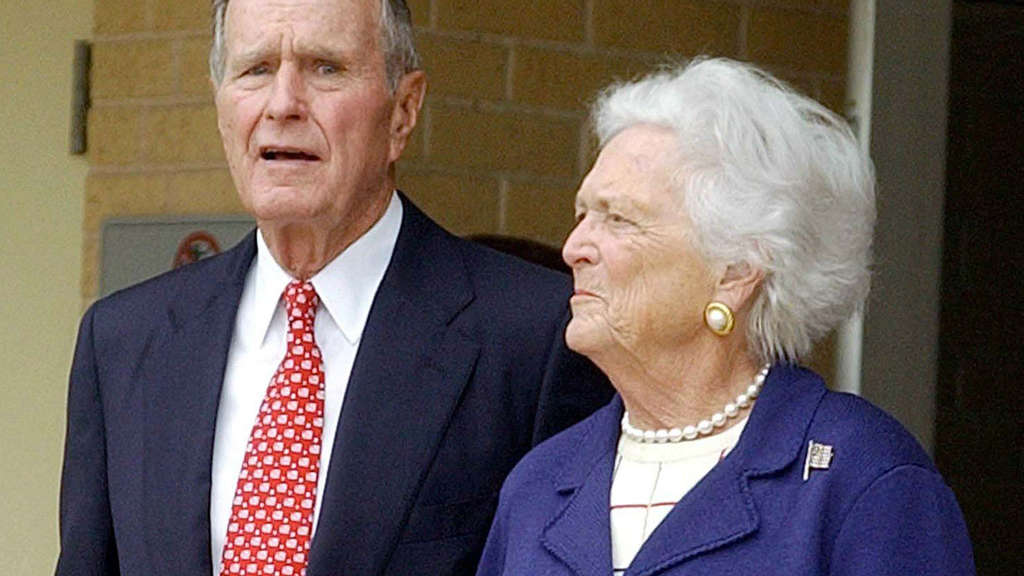George H.W. und Barbara Bush
