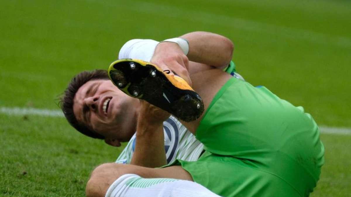 Verletzung am Sprunggelenk: Wolfsburg wochenlang ohne Gomez