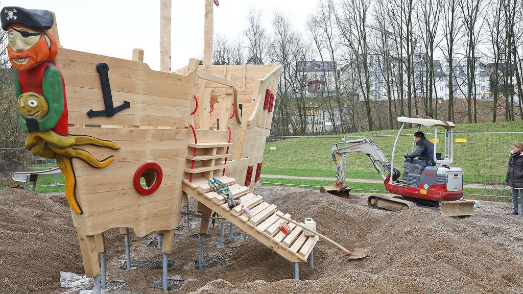 Klettergerüst Piratenschiff : BÄrenloch neues piratenschiff für kinder darf in etwa drei wochen