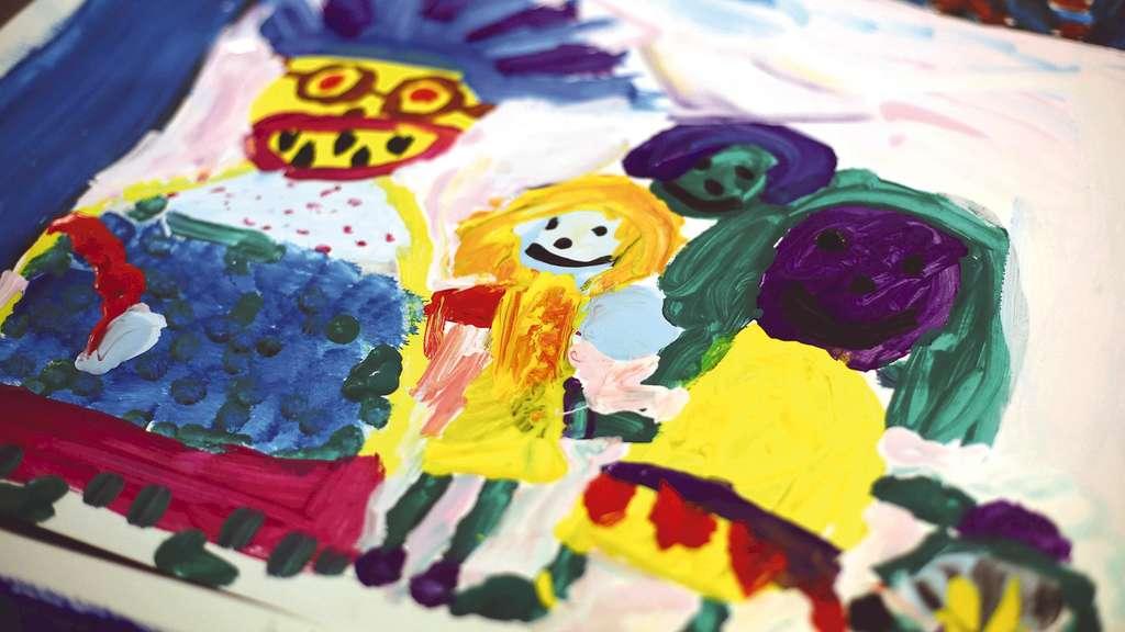 Kinder malen im Theater | Solingen