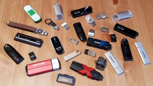 Kompakte Datenspeicher: USB-Sticks im Test
