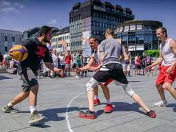 Die Streetbasketball-Tour NRW in Solingen