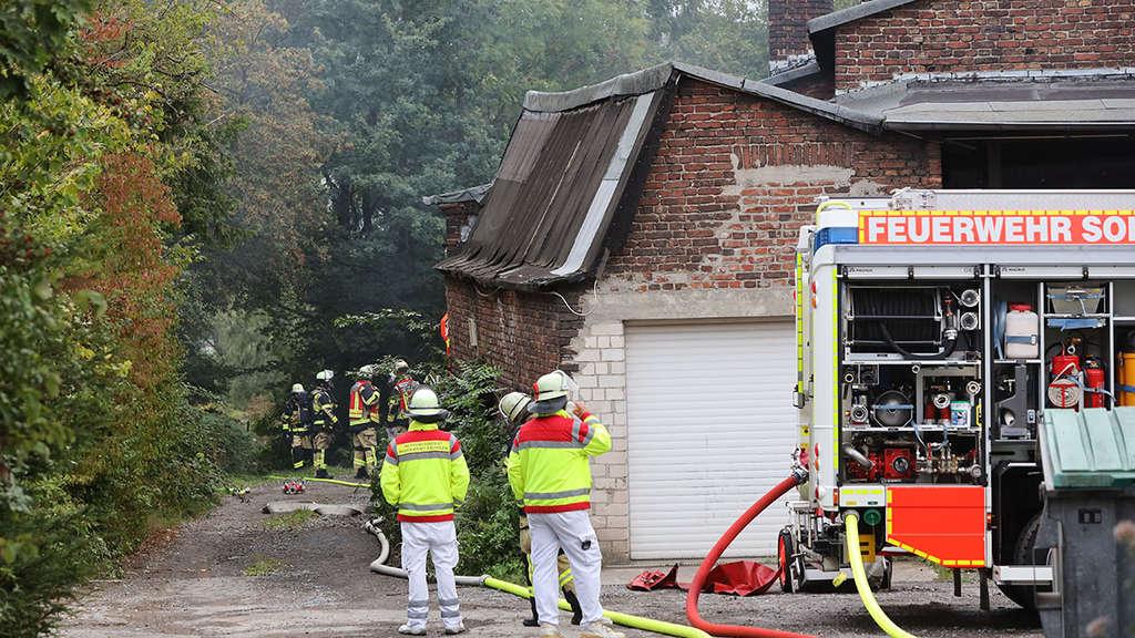 Brand In Solingen