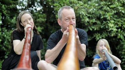 Didgeridoo bringt australisches Flair