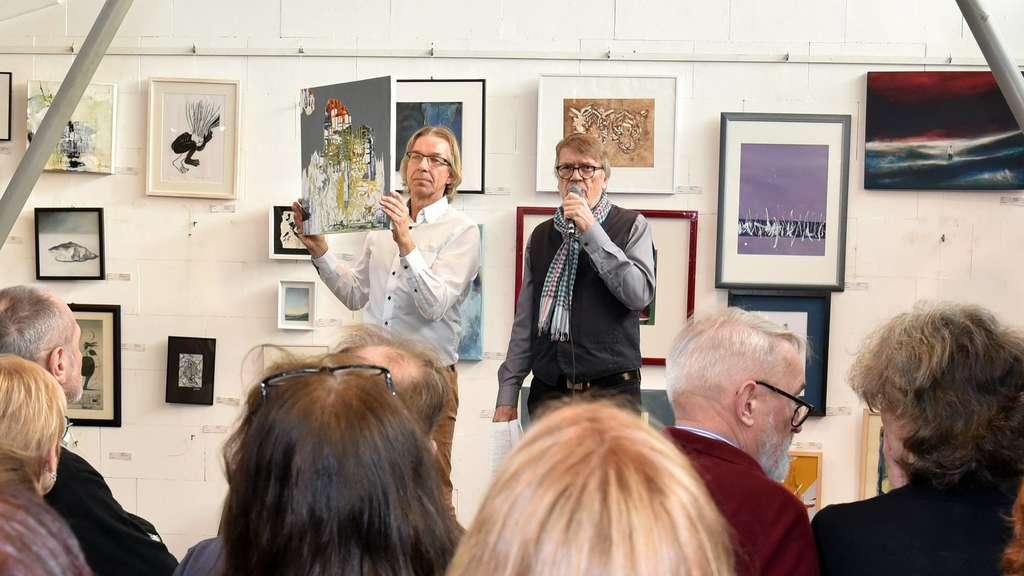 2020 gab es vor Corona die 33. Kunstauktion des Fördervereins. Daneben ist die Junge Expertise ein zentrales Projekt. Archivfoto: Andreas Horn